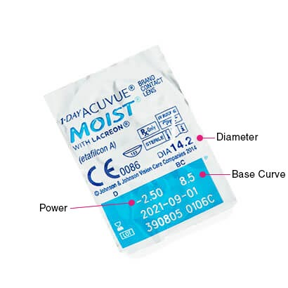 1 day acuvue moist contact lenses free delivery | feel