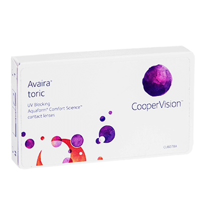 avaira toric contact lenses | feel good contacts uk