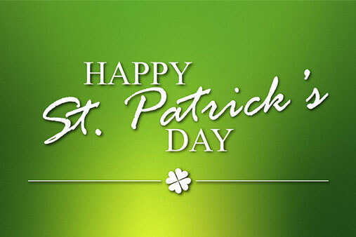 Dress up for St. Patrick's Day