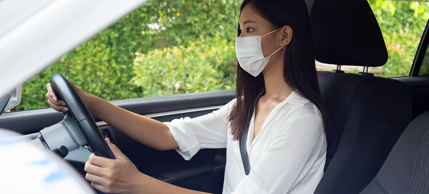 Why Wearing a Facemask Incorrectly While Driving  Could Face you with a Huge Fine
