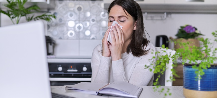 What's the difference between COVID-19 and hay fever?