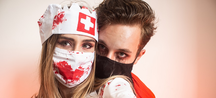 Make your own Halloween face masks