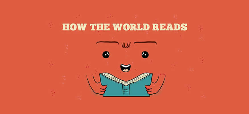 How the world reads