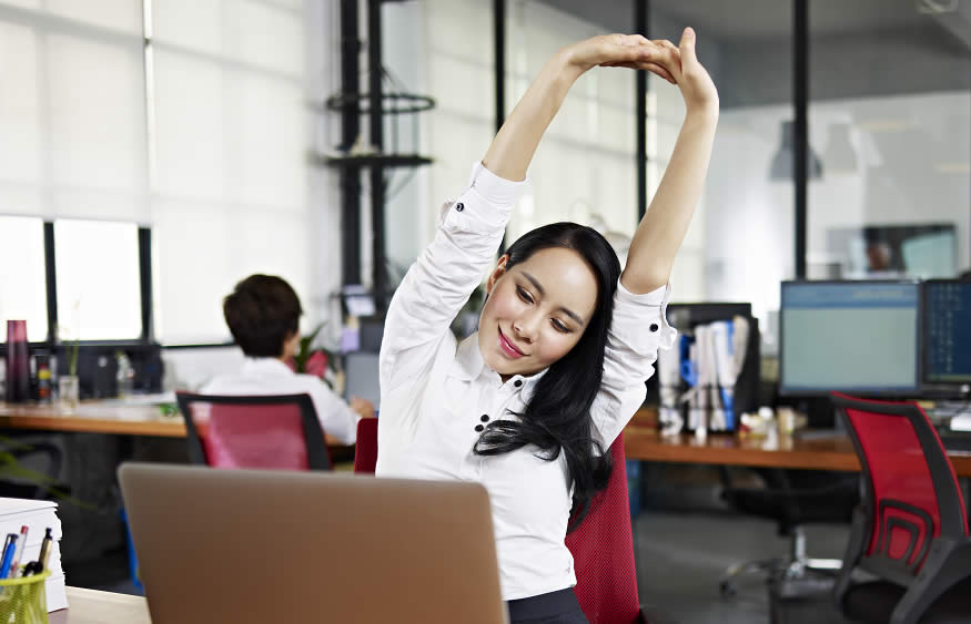Deskercise: Simple and Effective Exercises You Can Do At Work