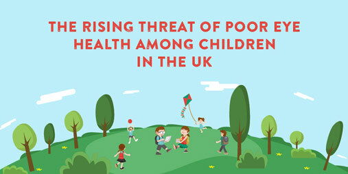 The rising threat of poor eye health among UK children