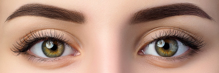 a person's eyes