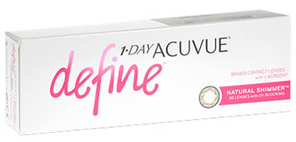 1 Day Acuvue Define - Natural Shimmer Contact Lenses