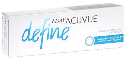 1 Day Acuvue Define - Natural Sparkle
