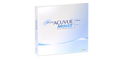 1 Day Acuvue Moist <br />(90 Pack)