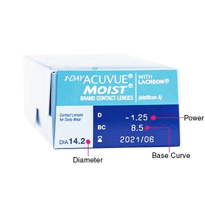 1 Day Acuvue Moist Box