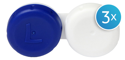 Contact Lens Case Triple Pack
