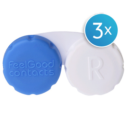 Feel Good Contact Lens Case Triple Pack