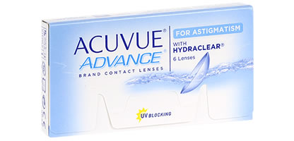 Acuvue Advance Contact lens