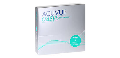 Acuvue Oasys 1-Day with HydraLuxe <br />(90 Pack)