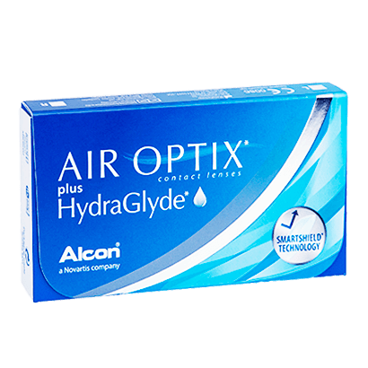 Air Optix Plus HydraGlyde (6 Pack) Contact Lenses