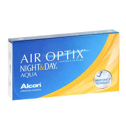 Air Optix Night & Day Aqua (6 Pack) Contact Lenses