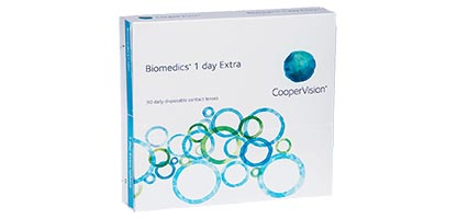 Biomedics 1 Day Extra <br />(90 Pack)