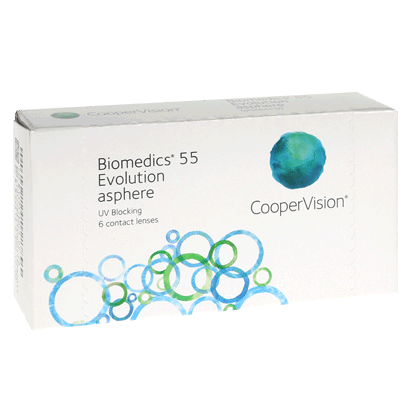 Biomedics 55 Evolution (6 Pack) Contact Lenses