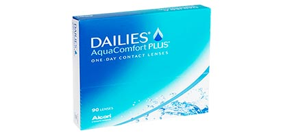Dailies AquaComfort Plus <br />(90 Pack)