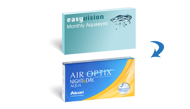 easyvision Monthly Aquaeyes