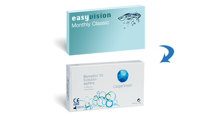 easyvision Monthly Classic