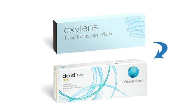 Boots Oxylens 1 Day for Astigmatism