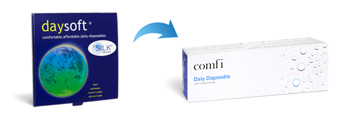 Daysoft contact lenses alternative