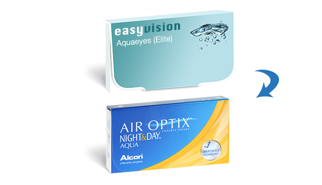 easyvision Monthly Aquaeyes (Elite)