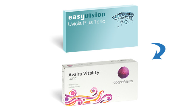 easyvision Monthly Uvicia Plus Toric