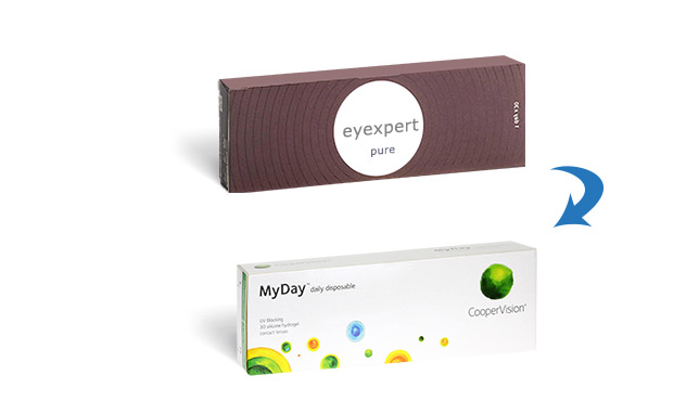 Eyexpert Pure 1 Day