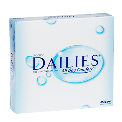 Focus Dailies All Day Comfort (90 Pack) Contact Lenses