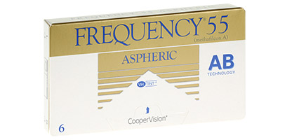 Frequency 55 Aspheric (6 Pack) Contact Lenses