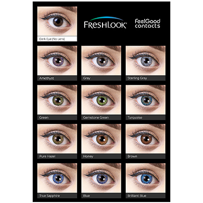 Freshlook colorblends contact lenses feel good contacts uk