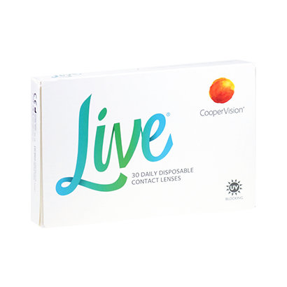 Live Daily Disposable Contact Lenses
