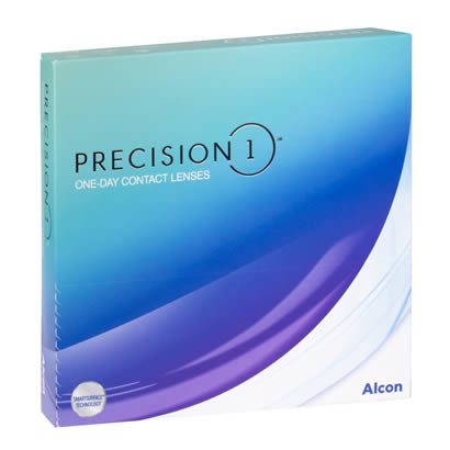 Precision 1 Spherical (90 Pack) Contact Lenses