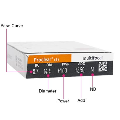 Proclear Multifocal Box