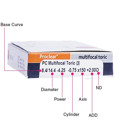 Proclear Multifocal Toric Box