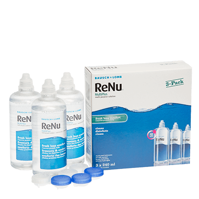 ReNu Multi-Plus Solution Triple Pack