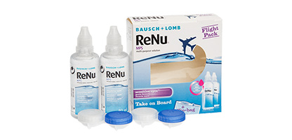 ReNu Multi-Purpose Solution Flight Pack