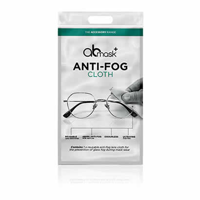 The AB Mask Anti-Fog Cloth