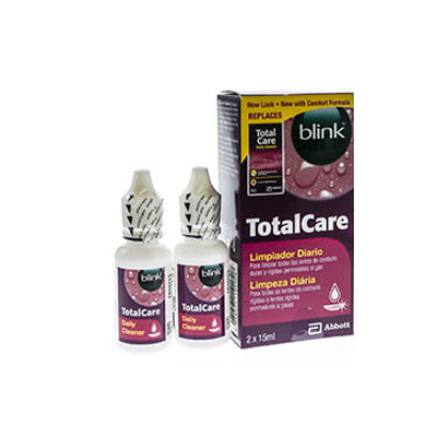 Total Care Daily Cleaner Twin Pack Contact Lenses