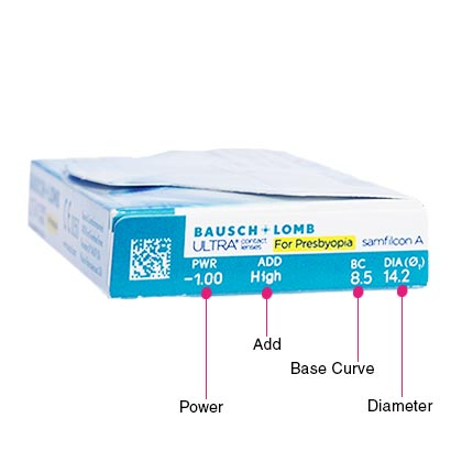 Bausch & Lomb Ultra for Presbyopia (6 Pack)