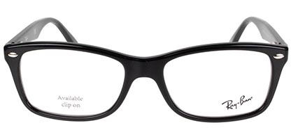 Ray-Ban RX5228 2000 53 Shiny Black