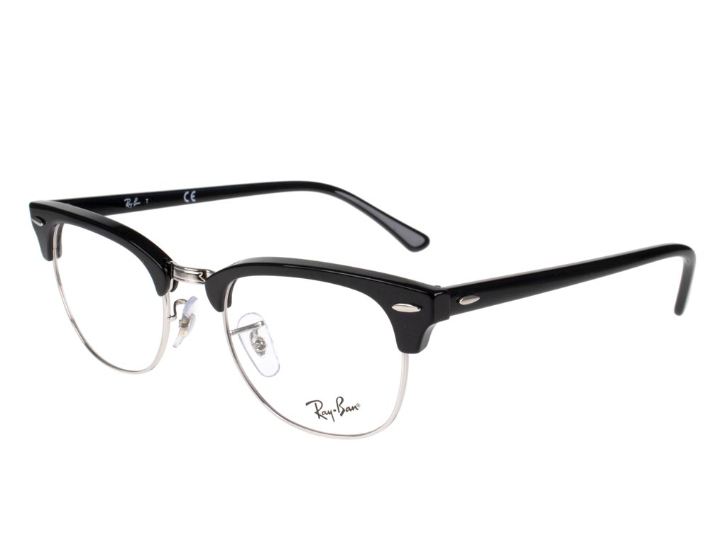 Ray-Ban Clubmaster RX5154 2000 51 Shiny Black