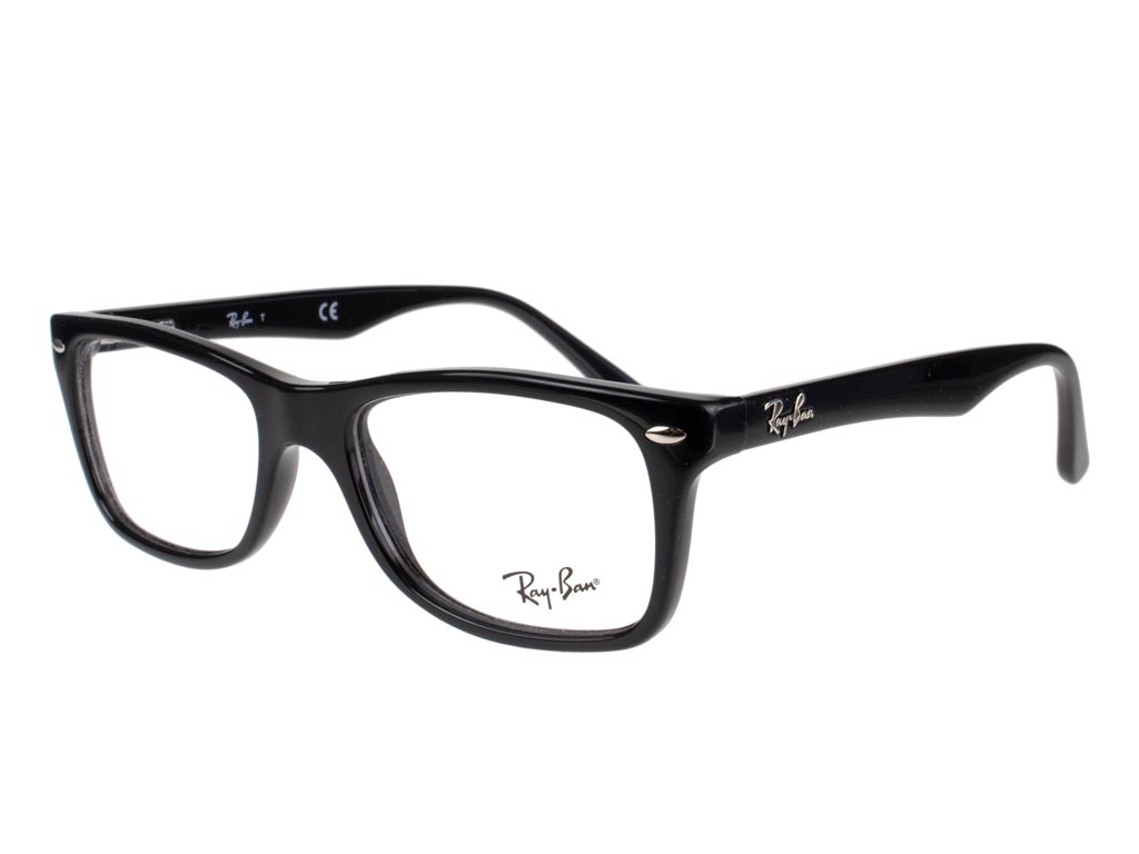 Ray-Ban RX5228 2000 50 Shiny Black