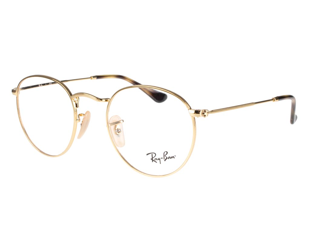 Ray-Ban Round Metal RX3447V 2500 47 Gold