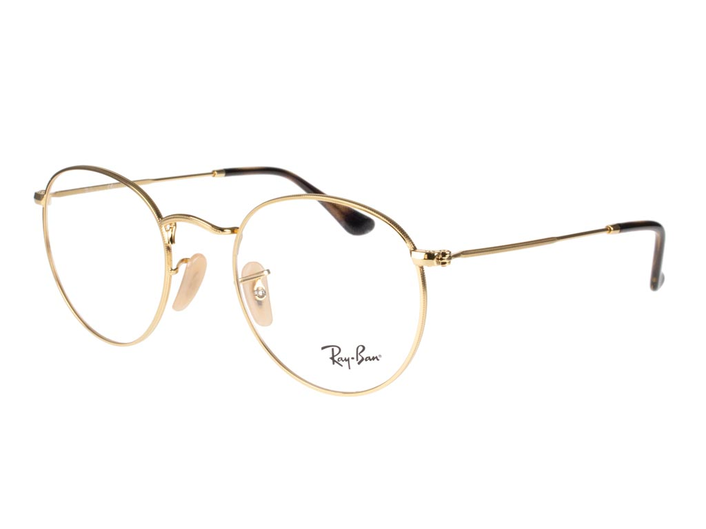 Ray-Ban Round Metal RX3447V 2500 50 Gold