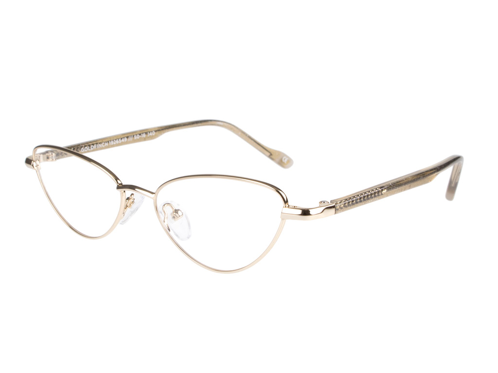 Le Specs Goldfinch Gold