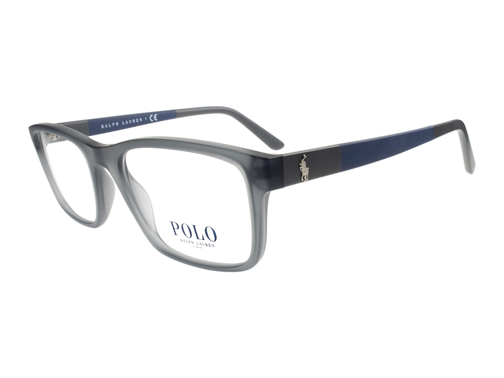 Polo Ralph Lauren PH2212 5763 53 Matte Transparent Grey