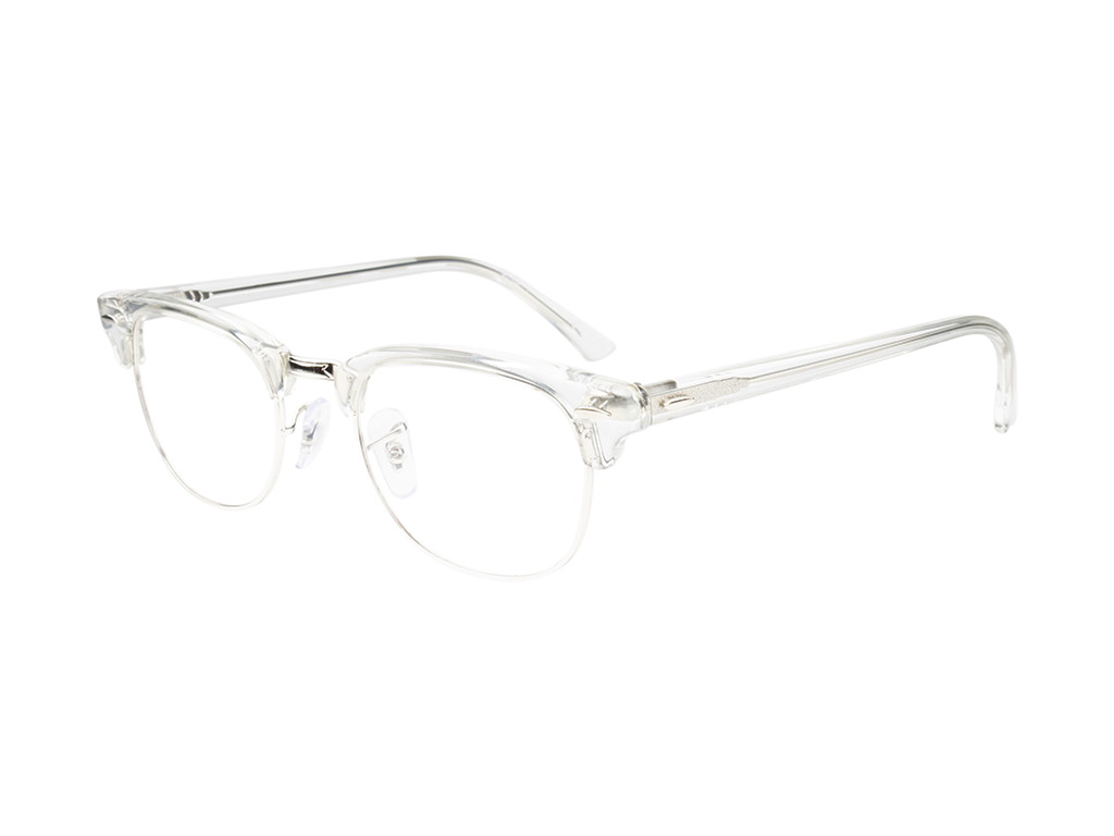 Ray-Ban Clubmaster RX5154 2001 49 White Transparent